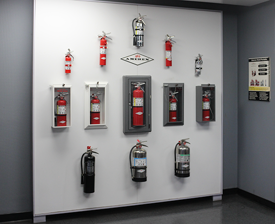 Orange County Fire Protection Showroom